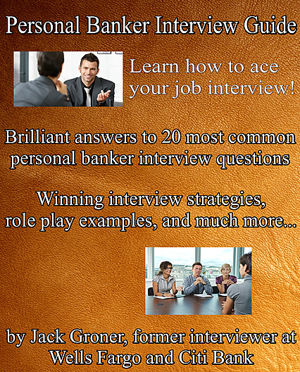 personal banker interview guide cover 2018 edition